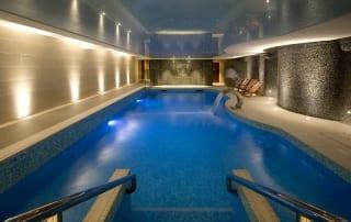 Headland Hotel spa pool