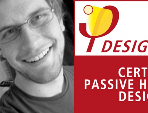 Congratulations to our Project Architect Chris Richards who has recently qualified as a Certified Passivhaus Designer