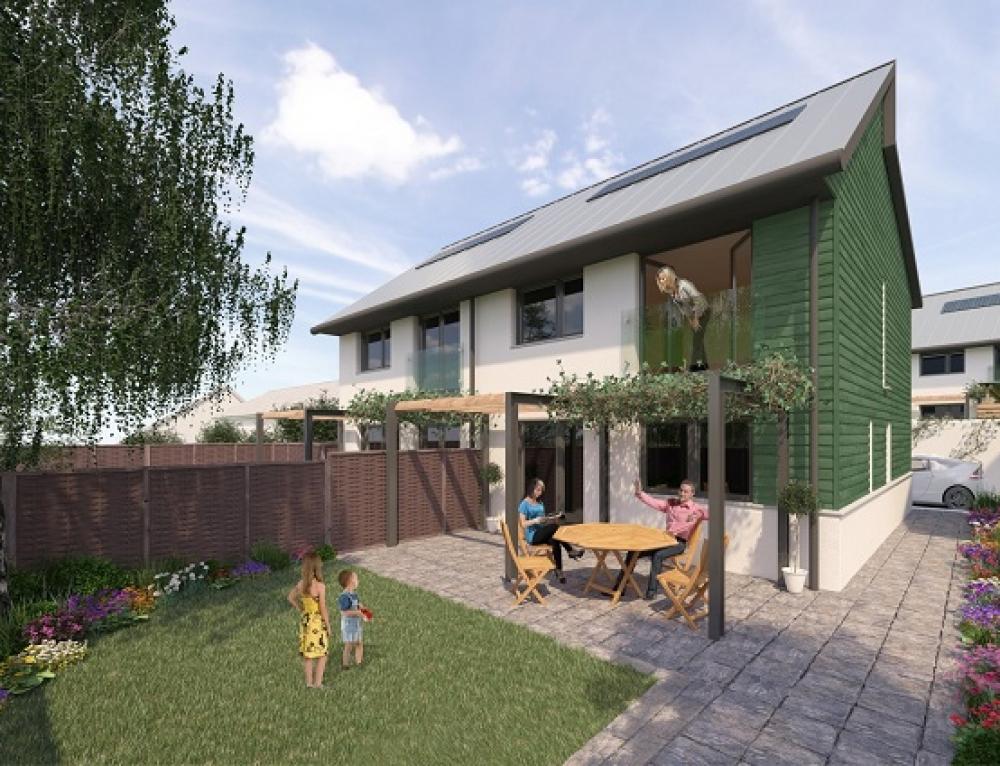 17 New Passivhaus Homes, Hayle