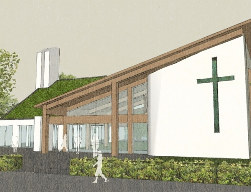 Lilly Lewarne collaborate with Falmouth University for new All Saints Church, Truro