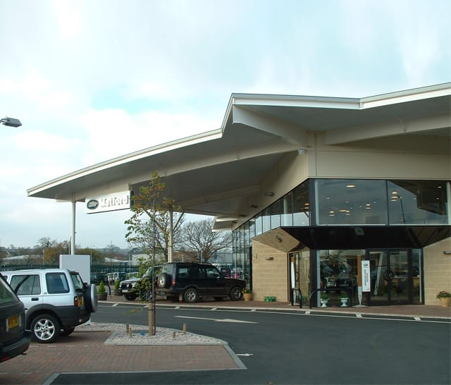 Land Rover Dealership - Exeter