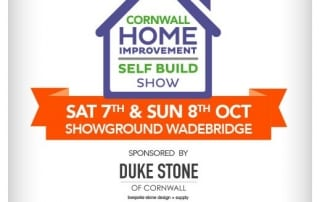Cornwall Home & Self Build Show 2017 poster
