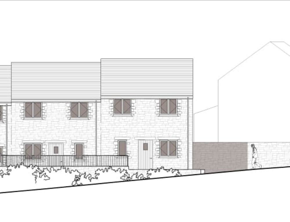 Planning Permission for Houses Near St. Issey