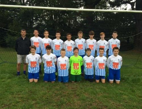 Lilly Lewarne Sponsor Local Football Team