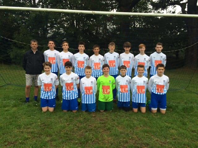 perranwell under 14 football team