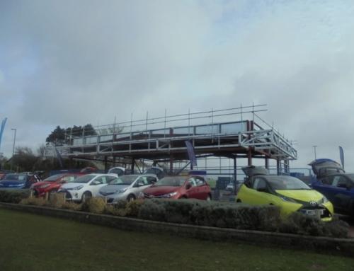 Progress On Site At Parklands Toyota, Helston