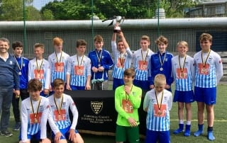 perranwell united under 14s champions
