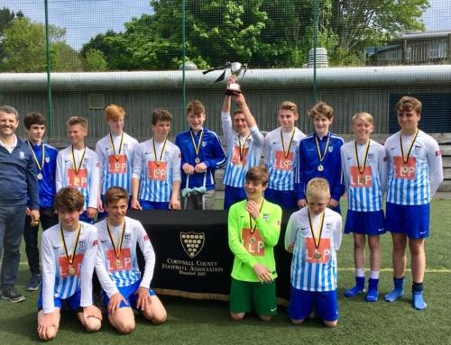 U14's County Cup Champions 17/18!