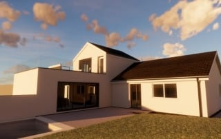 planning permission for extension and alterations to home in truro lilly lewarne architects 1