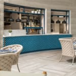 The Headland Hotel Aqua Centre kitchens and dining area