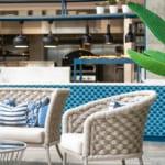 The Headland Hotel Aqua Centre dining area