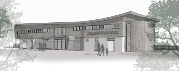 Falmouth School Concept Design - Front View