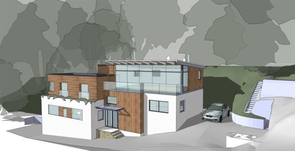 Gillan Cove - Side Model View