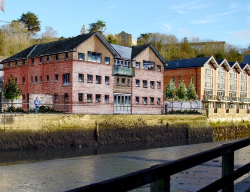 Osprey House, Truro – Riverside Sketch