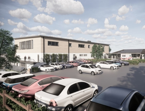 New Surgical Centre Extension, Concept Scheme