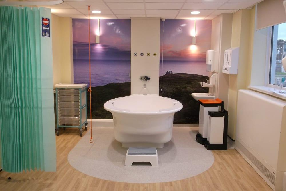 RCH birthing centre pool